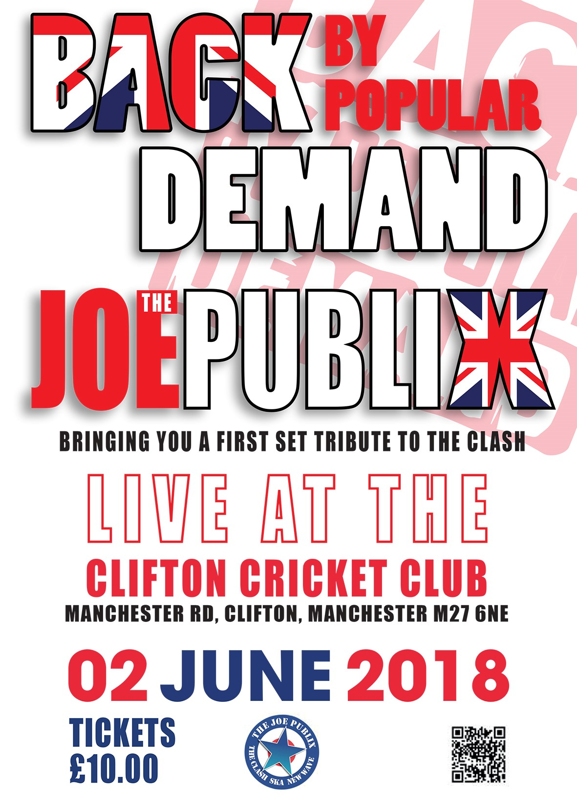 Social Event - Joe Publix 2nd June 2018
